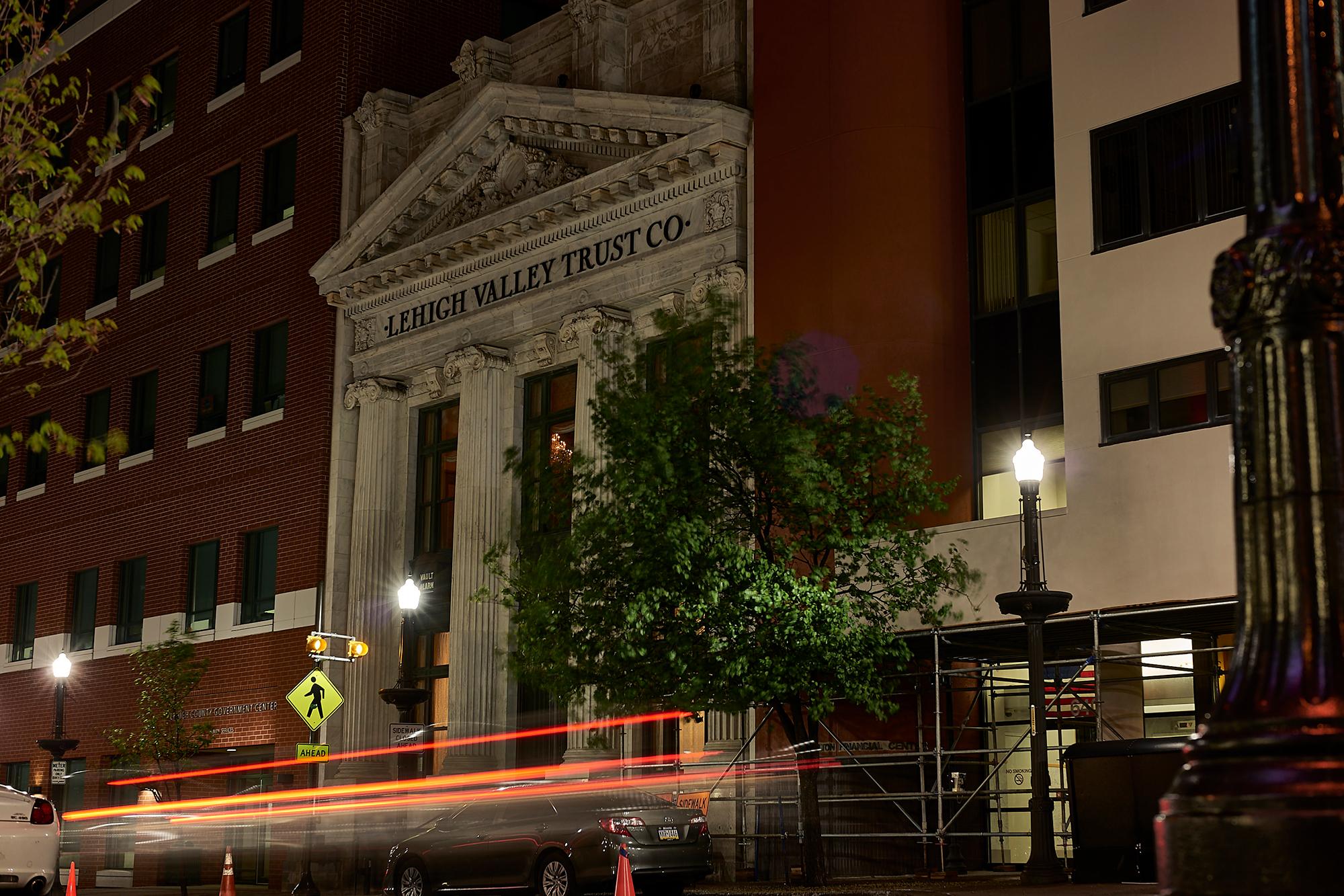 Vault 634 - North Facade At Night
