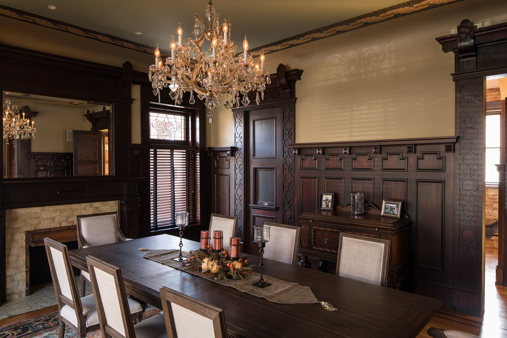 The Moyer Mansion Dining Room