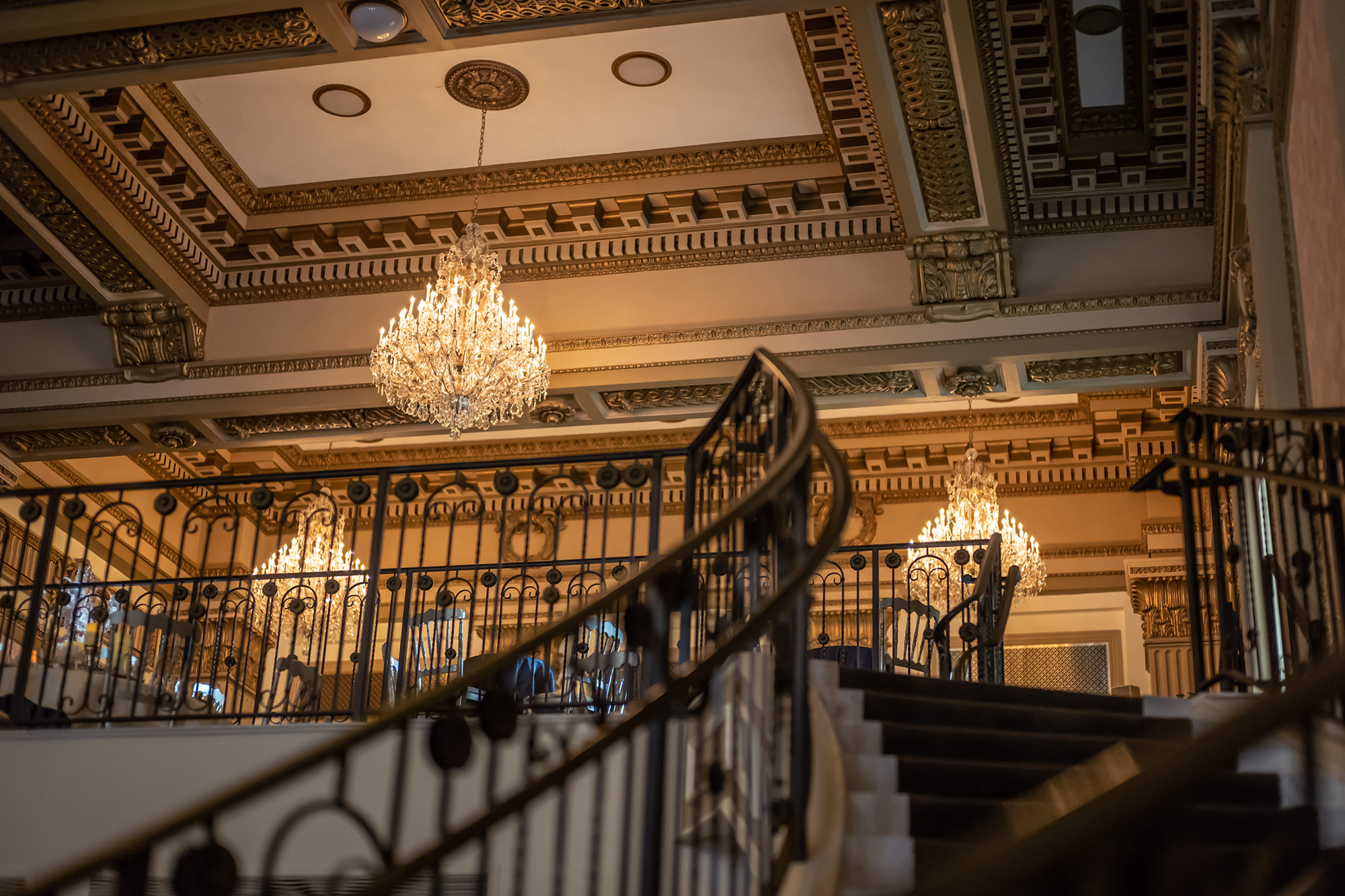 The Lehigh Valley Trust Building Chandeliers